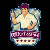 """COMFORT SERVICE"" TRUCKING COMPANY logo, icon"