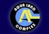 Aqua Land sport complex logo, icon