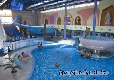 Aquatek sport-recreation center