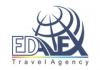 Edalex Travel Agency logo, icon