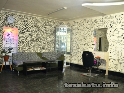 Black & White beauty salon