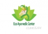 Eco ayurvedic center logo, icon