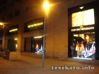 Магазин одежды Эмпорио Армани