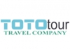Toto Tour travel agency logo, icon