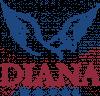 """""""DIANA"""" HOTEL COMPLEX logo, icon"""