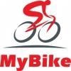 """MYBIKE"" BICYCLE SPECIALTY SHOP logo, icon"