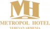 Metropol hotel logo, icon