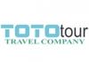 Toto Tour travel agency logo, icon